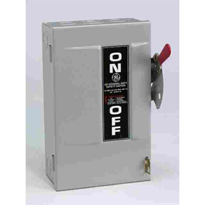 GE 30A GD SAFETY SWITCH - CARTRIDGE FUSE TYPE