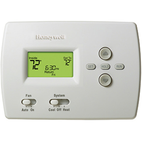HONEYWELL PROGRAM 1H/1C STANDARD DISPLAY THERMOSTAT
