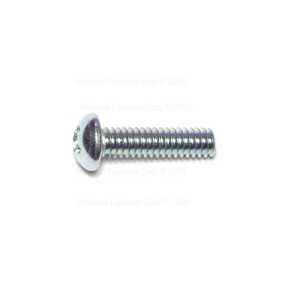 1/4-20 X 1 PHILLIPS ROUND HEAD STOVE BOLTS ZINC PLATED
