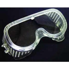 FLEXIBLE SAFETY GOGGLES CLEAR LENS