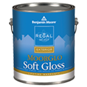 GAL MOORGLO BRILLIANT WHITE SOFT GLOSS 100% ACRYLIC HOUSE