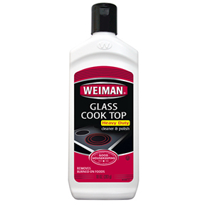 WEIMAN 10OZ HEAVY DUTY GLASS COOK TOP CLEANER & POLISH